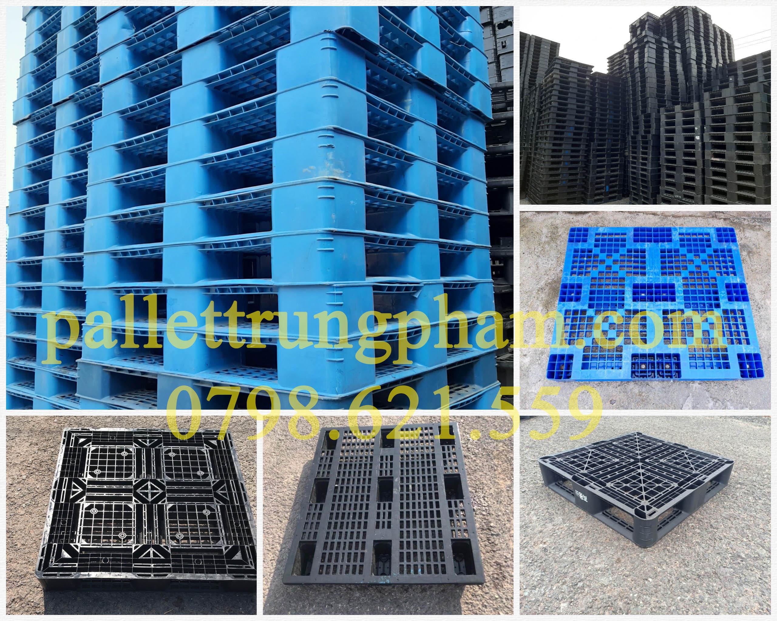 Pallet nhựa chuyên dùng xuất khẩu và lưu kho