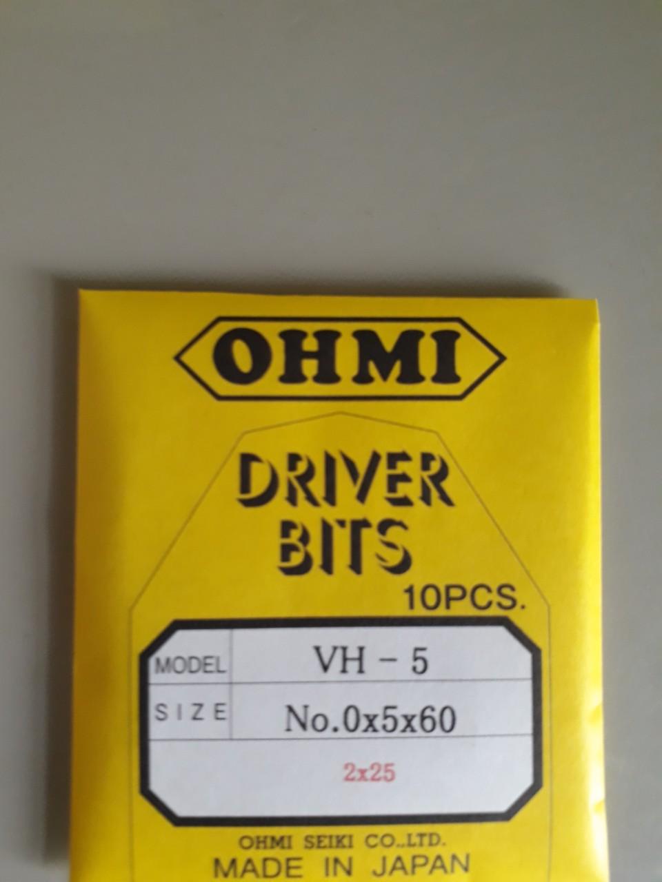 Mũi vít OHMI VH-5