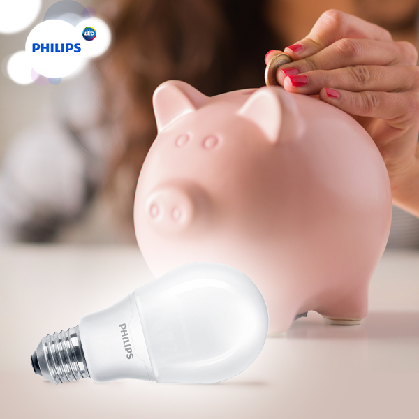 Đèn led bulb 10,5-85W E27 6500K Philips