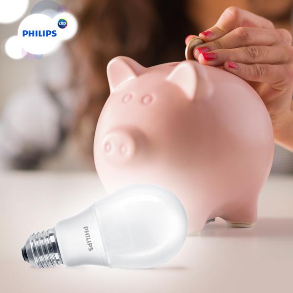 Đèn led bulb 14 -100W E27 3000K 230V A67 Philips cho hiệu quả chiếu sáng tối ưu nhất với chỉ số truyền màu 80%