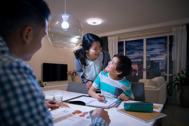 Đèn led bulb 7-60W E27 3000K 230V A55 Philips đem lại hiệu quả chiếu sáng cao