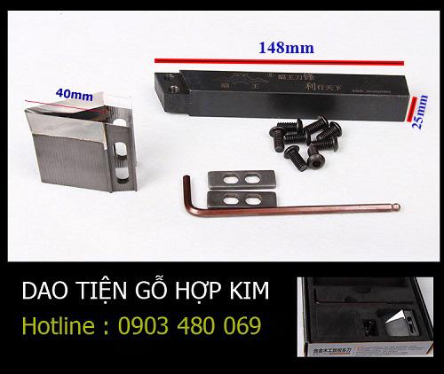 Dao tiện gỗ hợp kim Fuwang tools cho máy tiện CNC