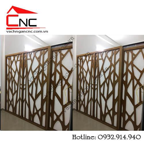 Phòng ngủ đẹp-báo giá vách ngăn phòng ngủ cnc bằng gỗ