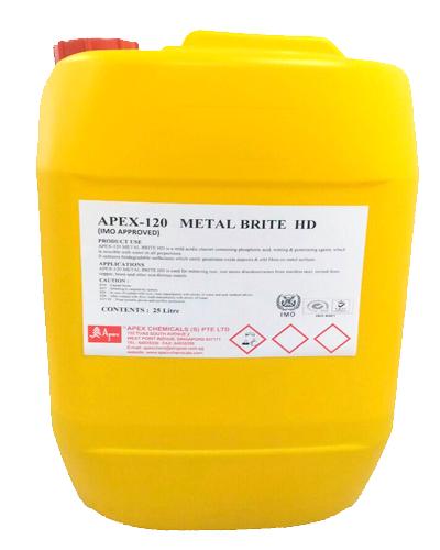 Tẩy gỉ sét và làm sạch sáng kim loại A-120 METAL BRITE HD