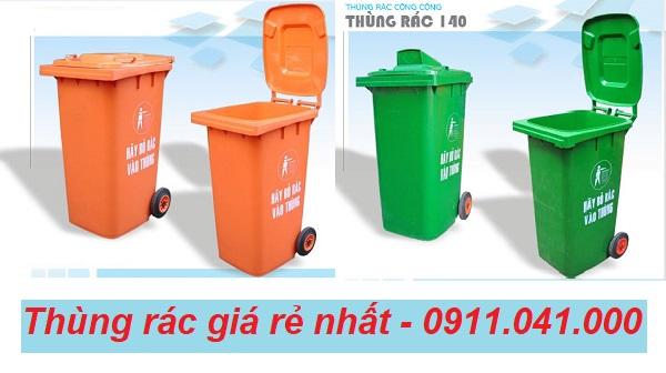 Địa chỉ cc thùng rác nhựa nắp kín