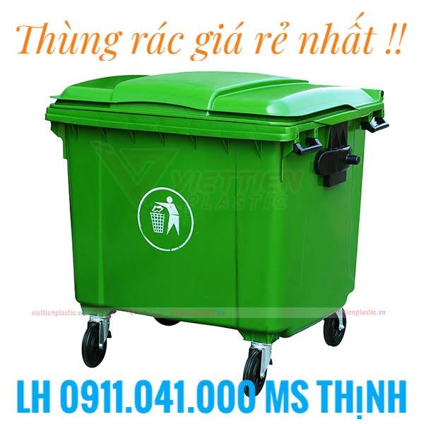 Thùng rác 120 lit, 240 lit, 660 lit - 0911041000
