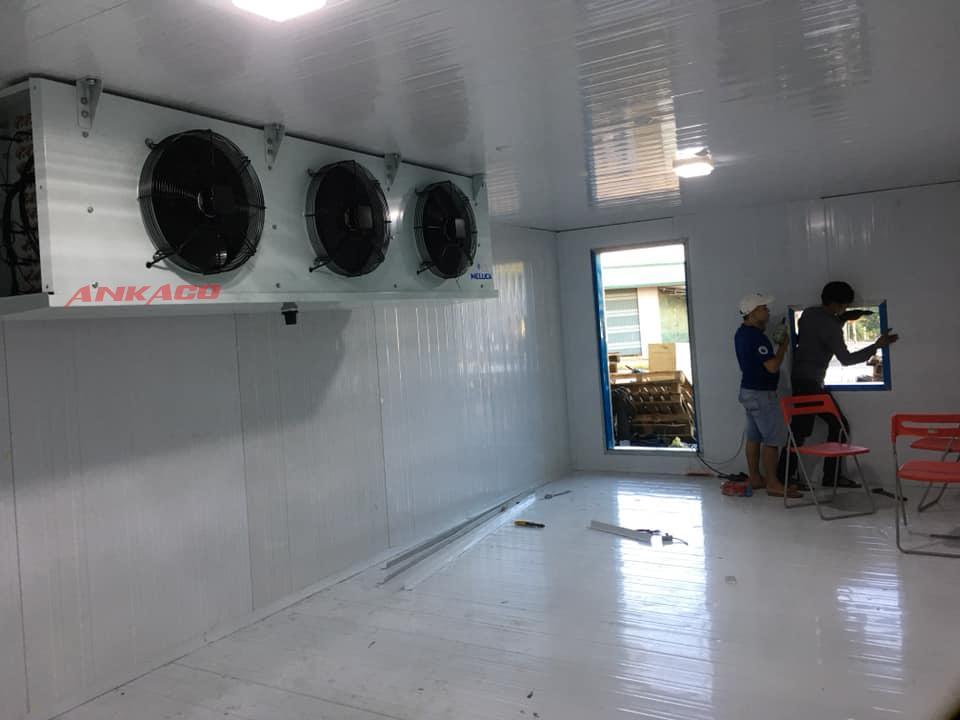 ANKACO -giải pháp sửa chữa kho lạnh hiệu quả