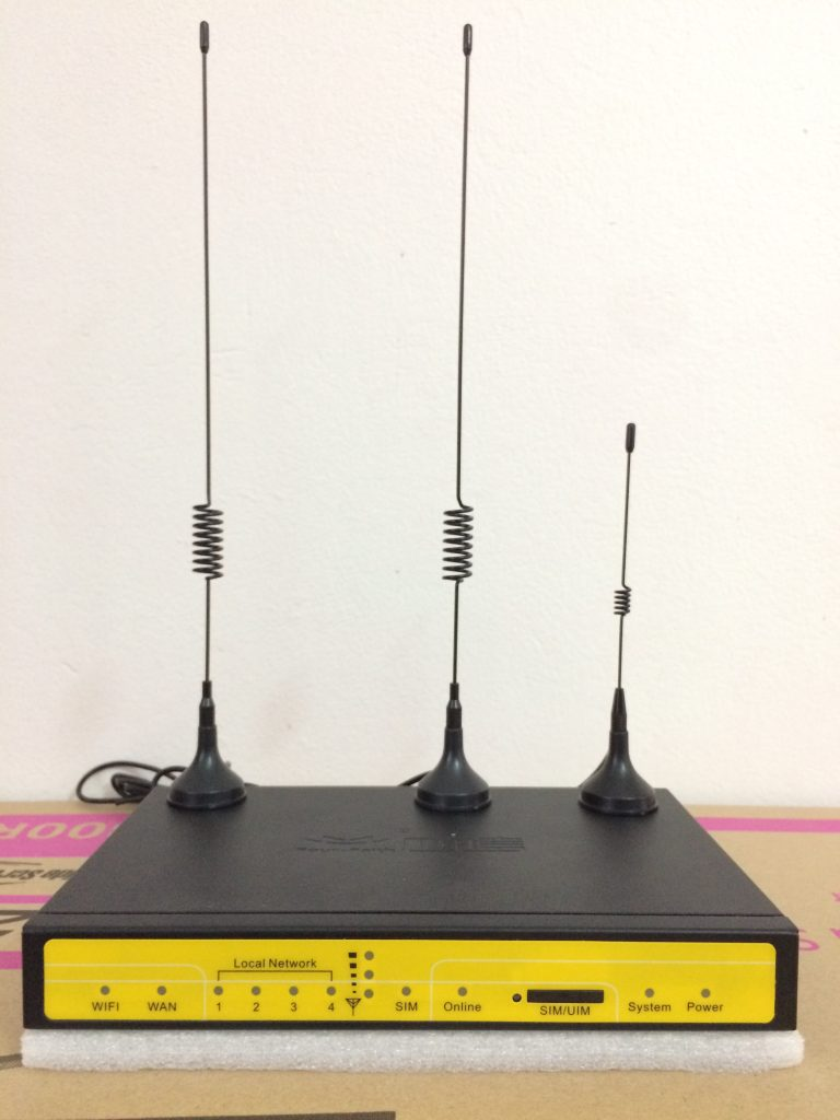 F3436 - Router công nghiệp WCDMA(3G) / LTE(4G)