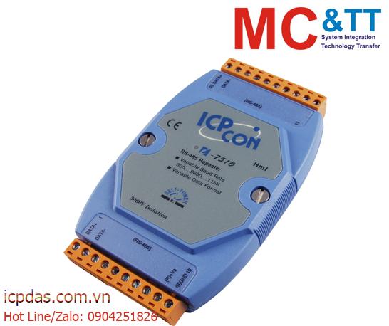 I-7510: Bộ lặp và cách ly RS-485 ICP DAS