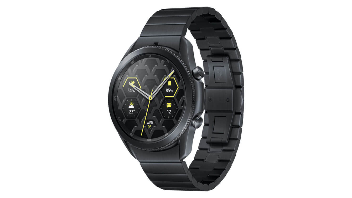 Samsung Galaxy watch 3 bản Titanium?