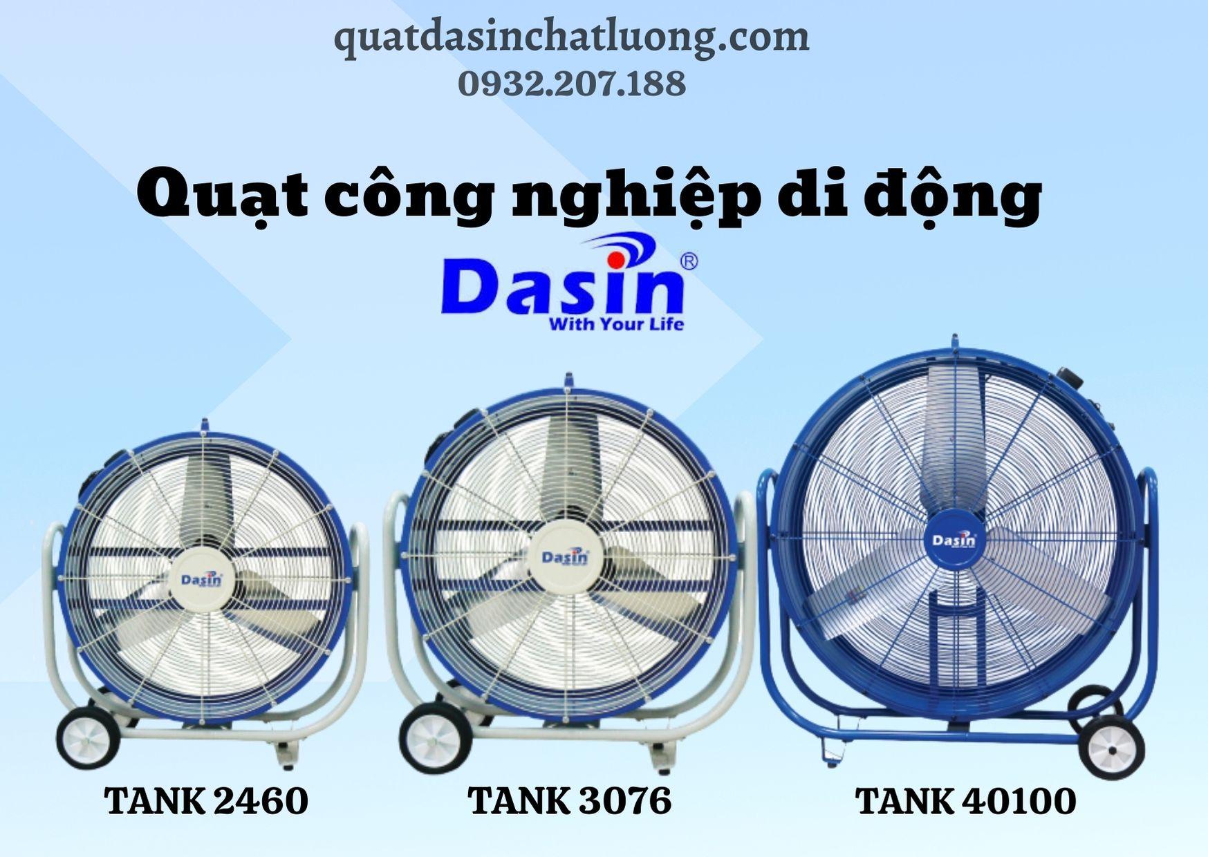 quạt di động Dasin- TANK