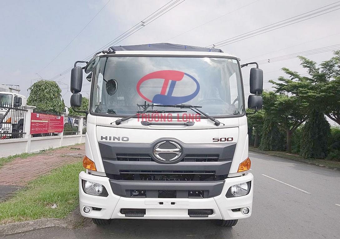 Bảng giá xe tải mui bạt 2 chân 8 tấn