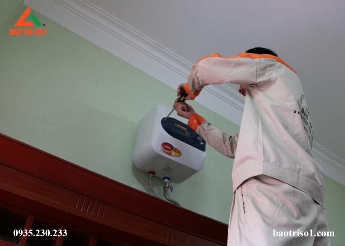 Dịch vụ lắp đặt bình nóng lạnh tại nhà