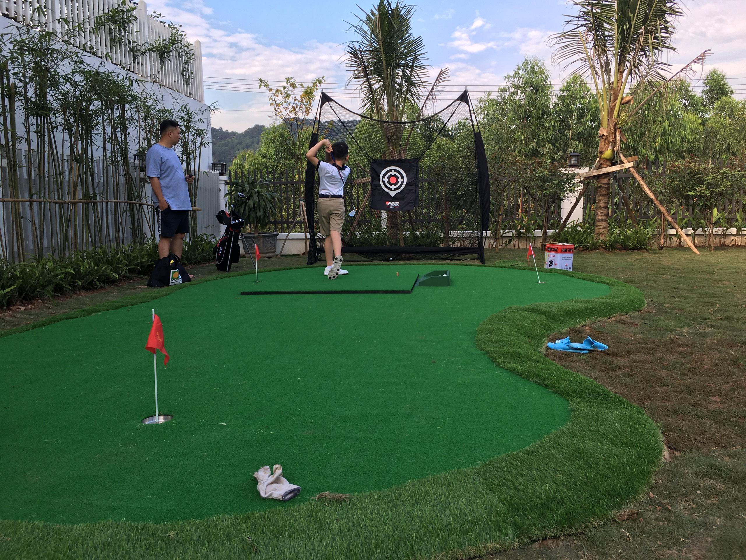 Thảm tập golf giá rẻ tại nhà, giao hàng toàn quốc