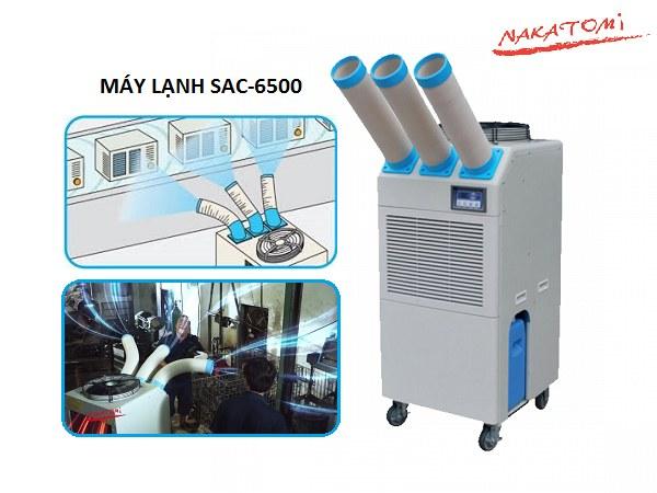Máy lạnh Nakatomi 6500 giải pháp hiệu ứng nhà kính