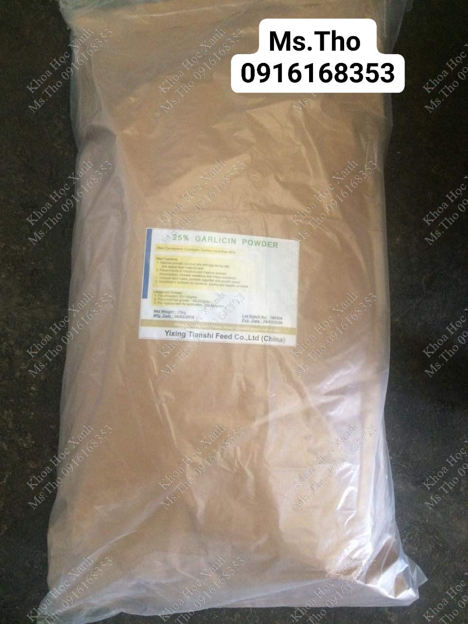 Bột tỏi - garcilin power 25%