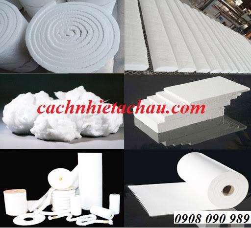 Chuyên sỉ và lẻ sản phẩm bông gốm Ceramic - vật liệu cách nhiệt bảo ôn