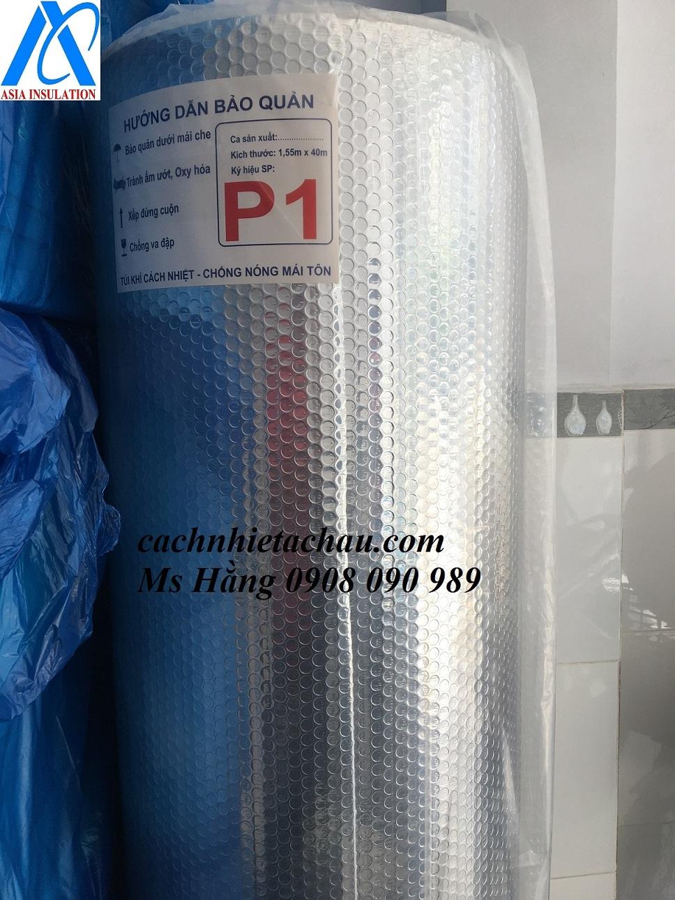 Tấm túi khí P1, P2 cách nhiệt chống nóng cho mái tôn giá rẻ