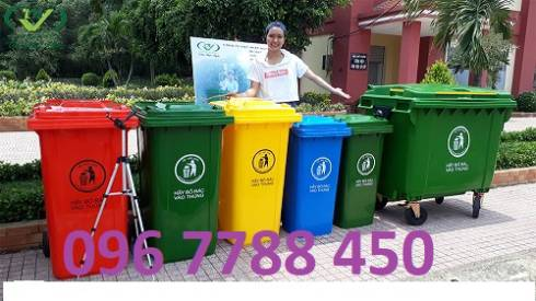 Thùng rác gia đình 120 lít giá sỉ toàn quốc