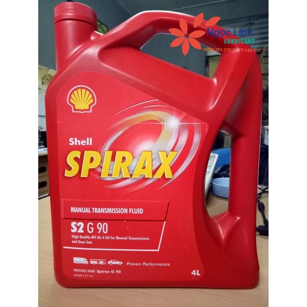 Dầu cầu hộp số Shell Spirax S2 G90 4L