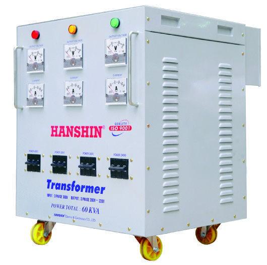 Biến thế điện Hanshin 60KVA