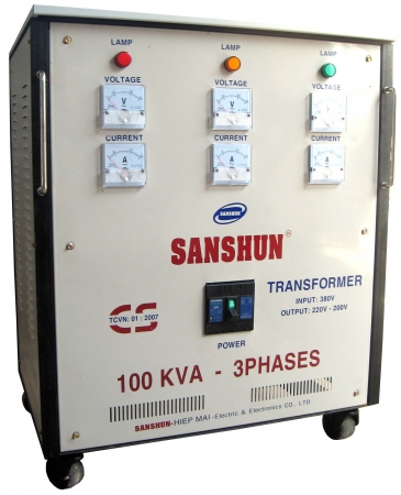 Biến thế điện SANSHUN - 100KVA