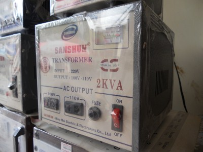 Biến thế điện SANSHUN - 2KVA