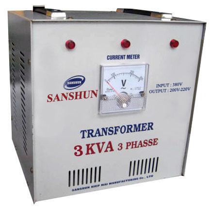 Biến thế điện SANSHUN - 3KVA