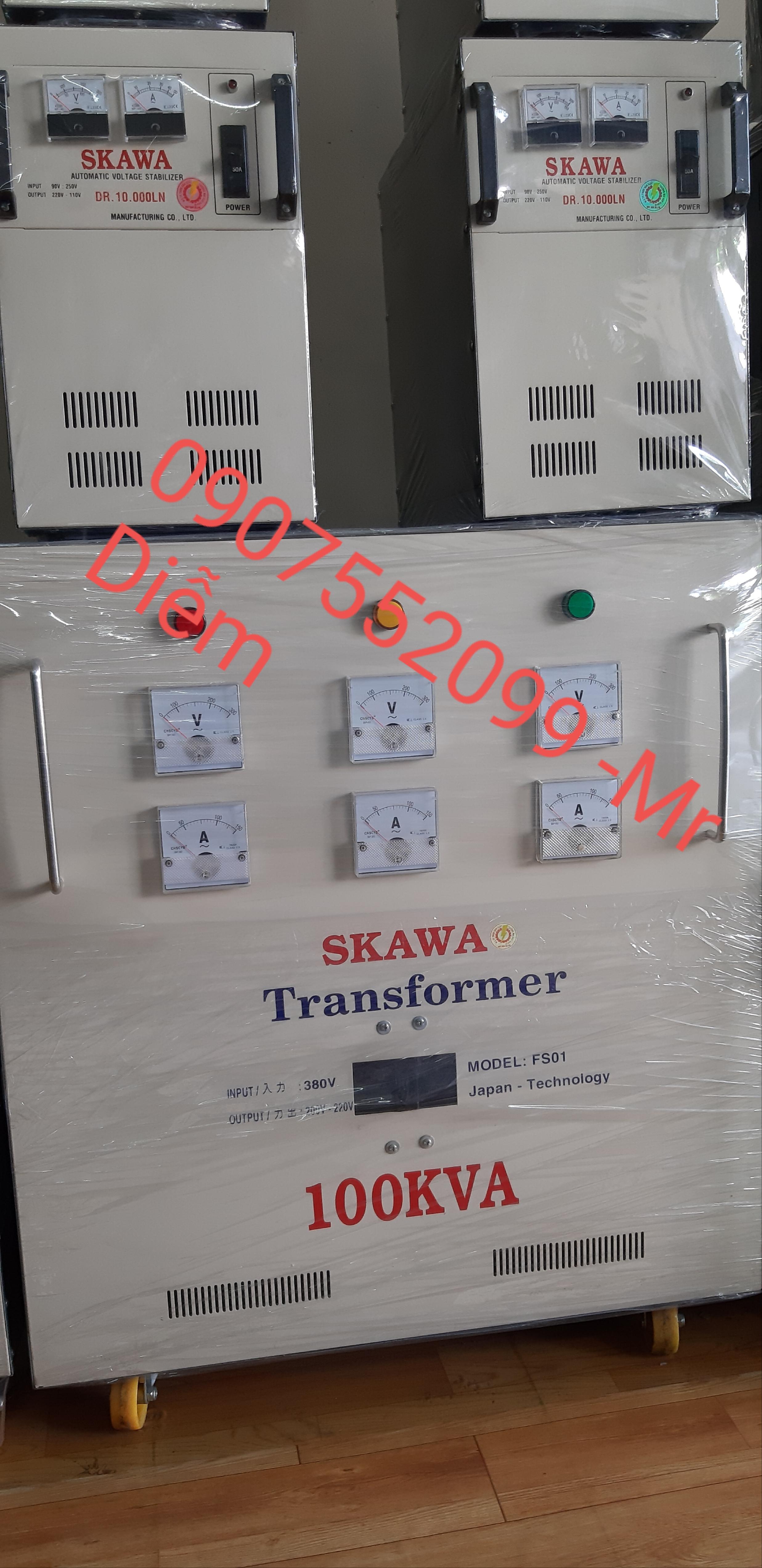 Biến thế điện Skawa 100KVA