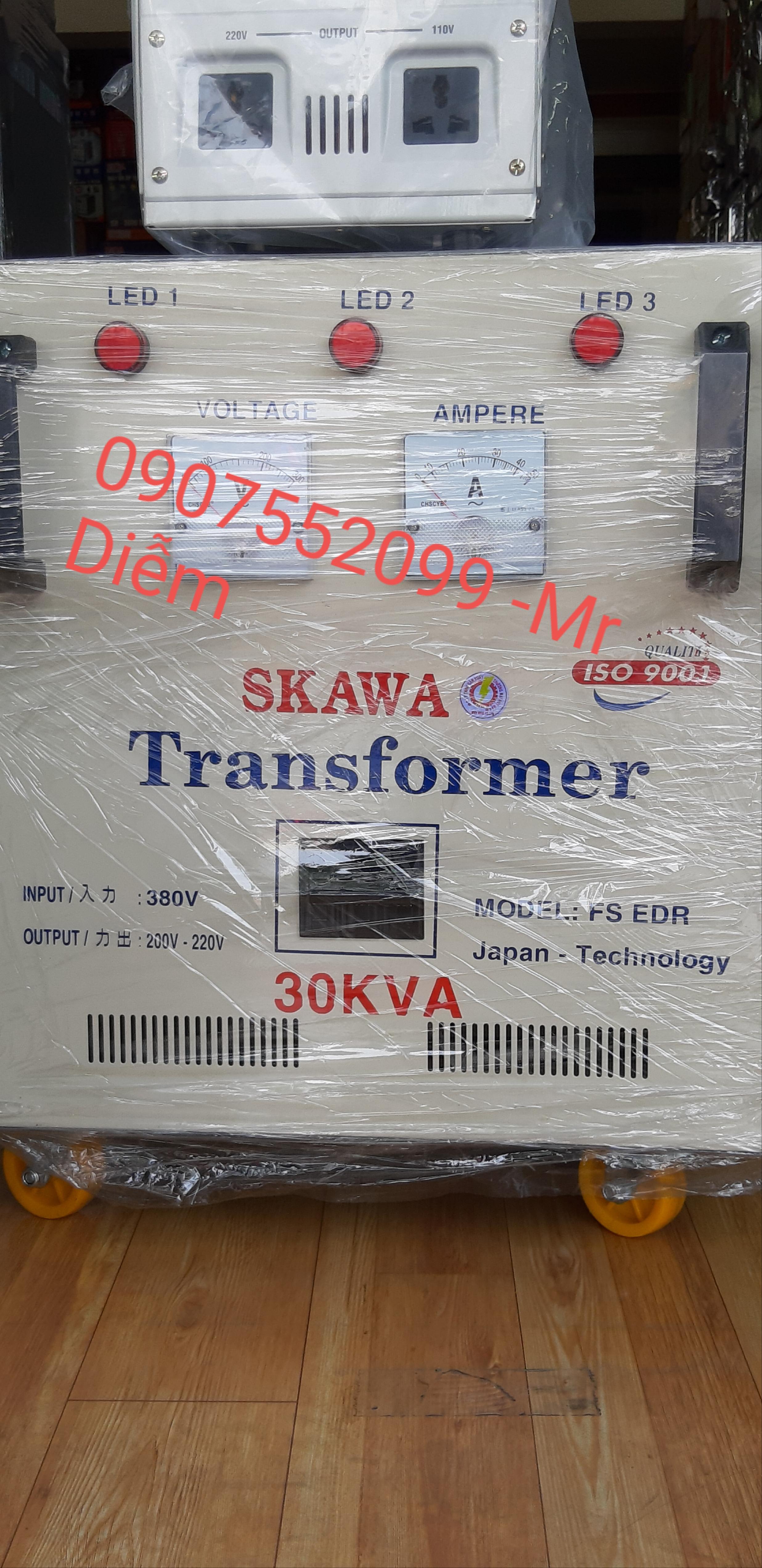 Biến thế điện Skawa 30KVA