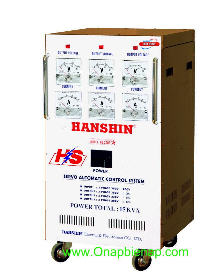 Ổn áp HANSHIN 15 KVA 3P
