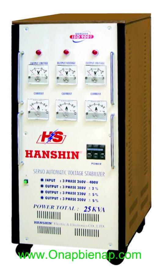 Ổn áp HANSHIN 25 KVA 3P