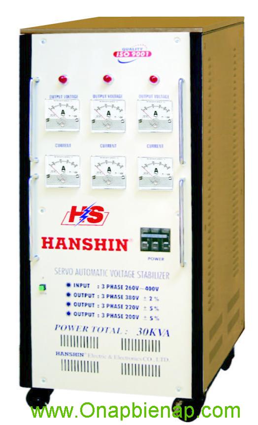 Ổn áp HANSHIN 30KVA 3P