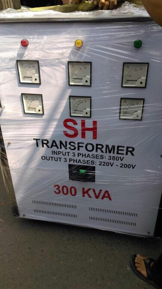 Máy Biến Thế 300KVA Hiệu SH