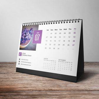 Custom 2021 Desk Calendars