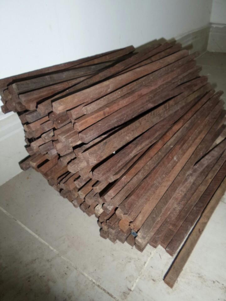 Phôi đũa gỗ trắc
