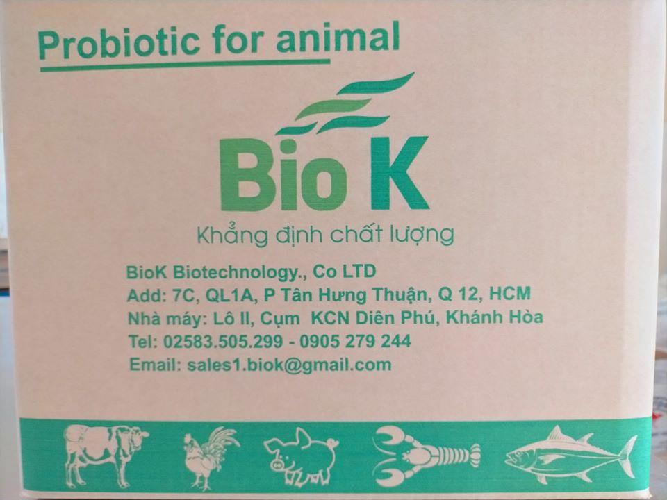 BioK - Chuyên cung cấp enzyme, men vi sinh nguyên liệu giá nhà máy
