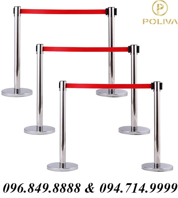 Bảng báo giá chi tiết cột chắn inox dây căng Poliva - Poliva.vn