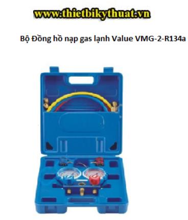 Bộ Đồng hồ nạp gas lạnh Value VMG-2-R134a -  Chất lượng, Uy tín - Hàng Công ty -bảo hàng 6 tháng