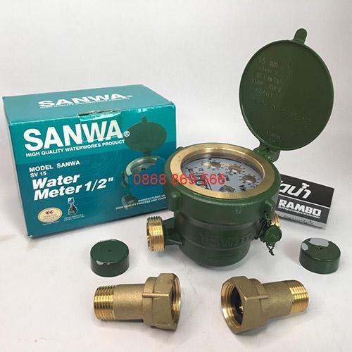 Đồng hồ đo nước Sanwa