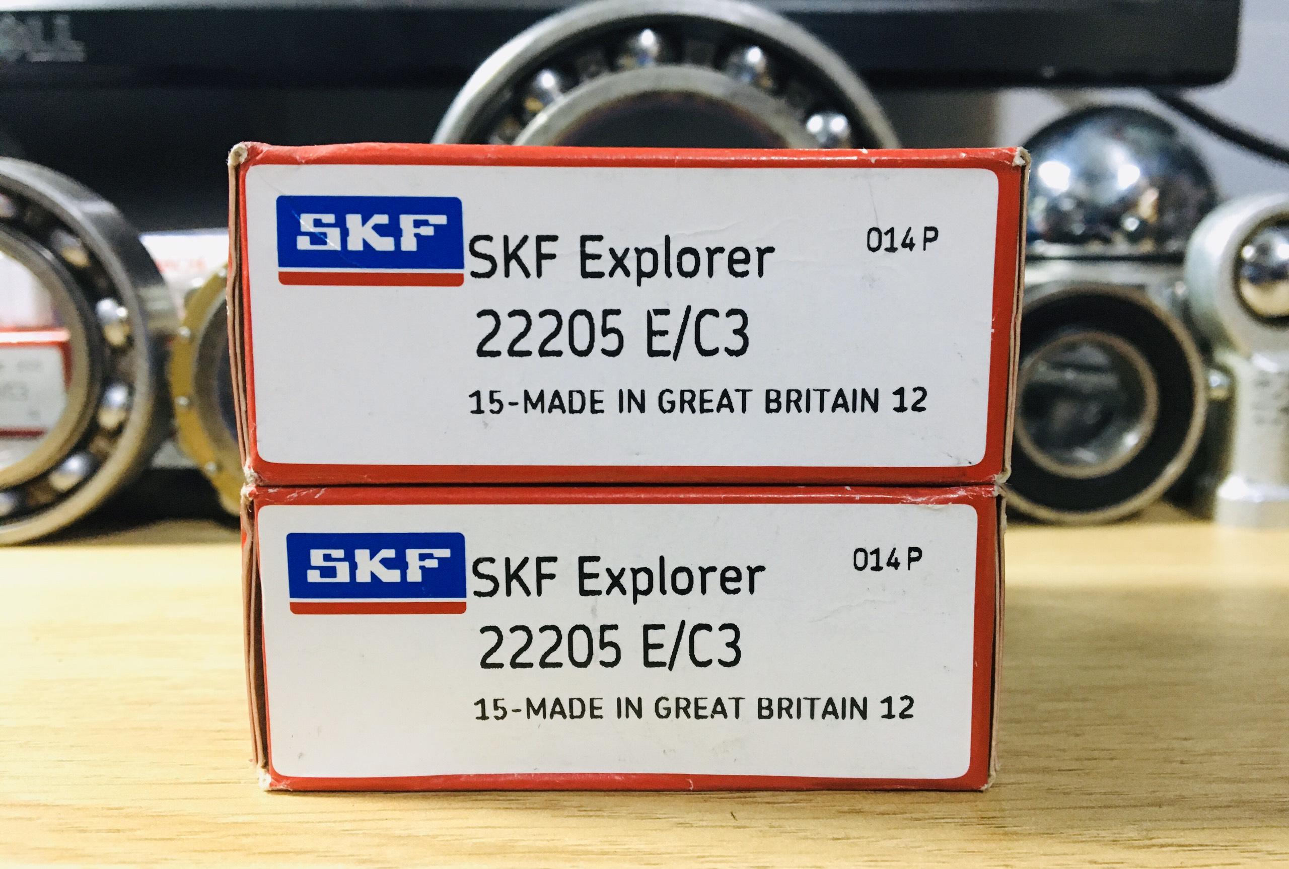 BẠC ĐẠN 22205 E/C3 SKF