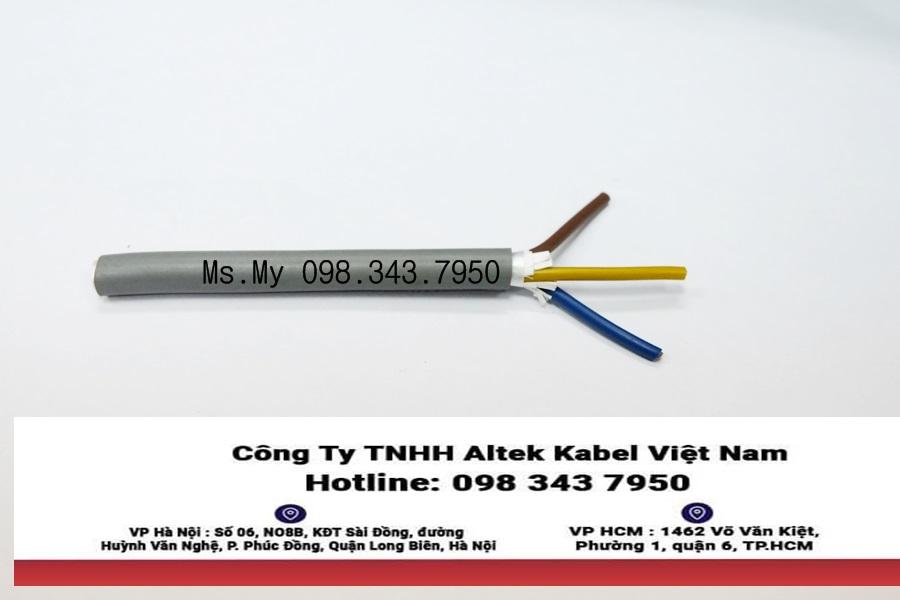 Cáp tín hiệu 3 lõi x 0.5mm Altek Kabel