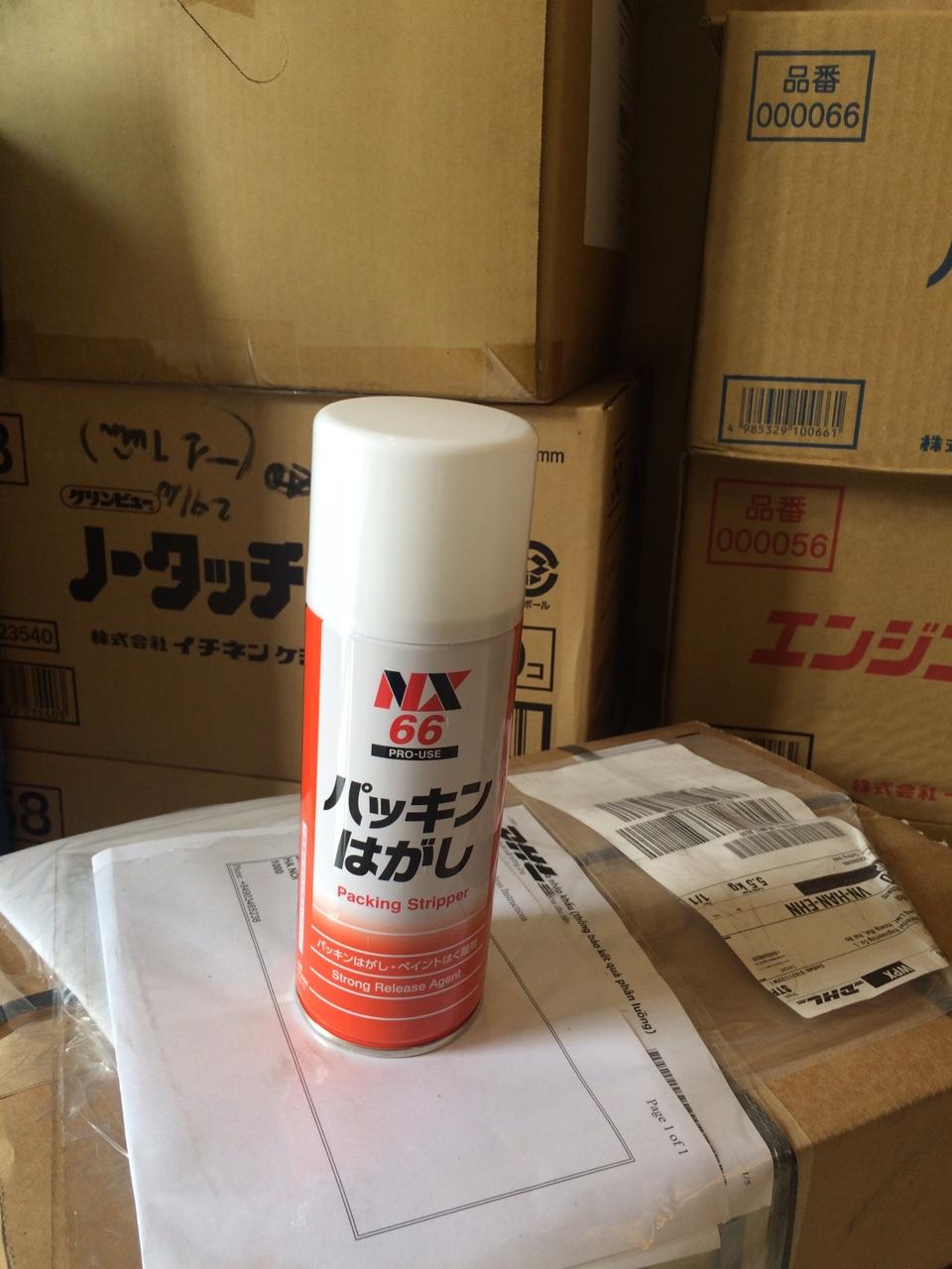 NX 66 Packing Stripper chất tách gioăng , màng sơn ,tẩy dầu cháy, tẩy keo , tẩy nhựa