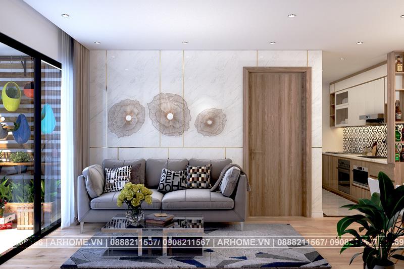 Mẫu nội thất căn hộ chung cư vinhome skylake ấn tượng