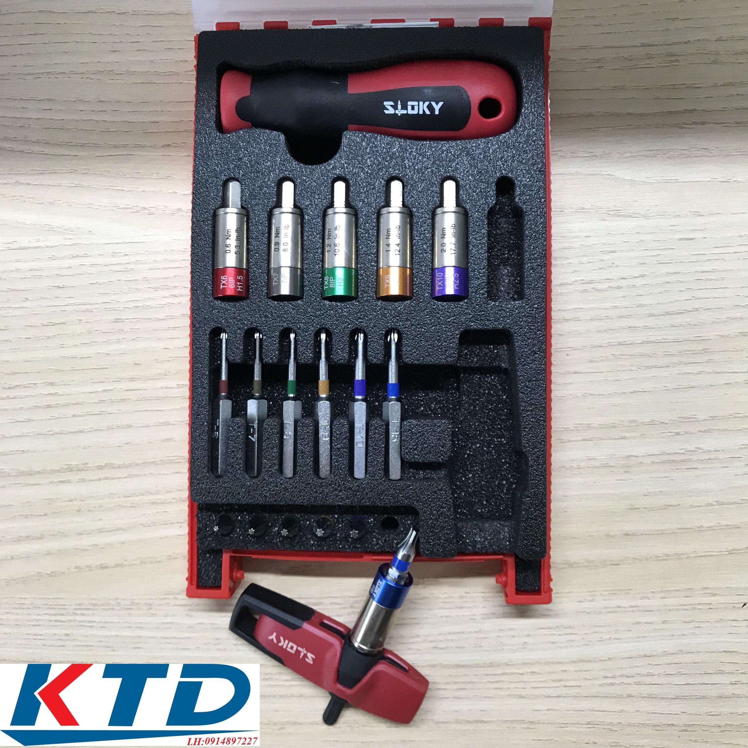 Tuốt nơ vít Sloky TSD-10 cao cấp chính hãng giá tốt