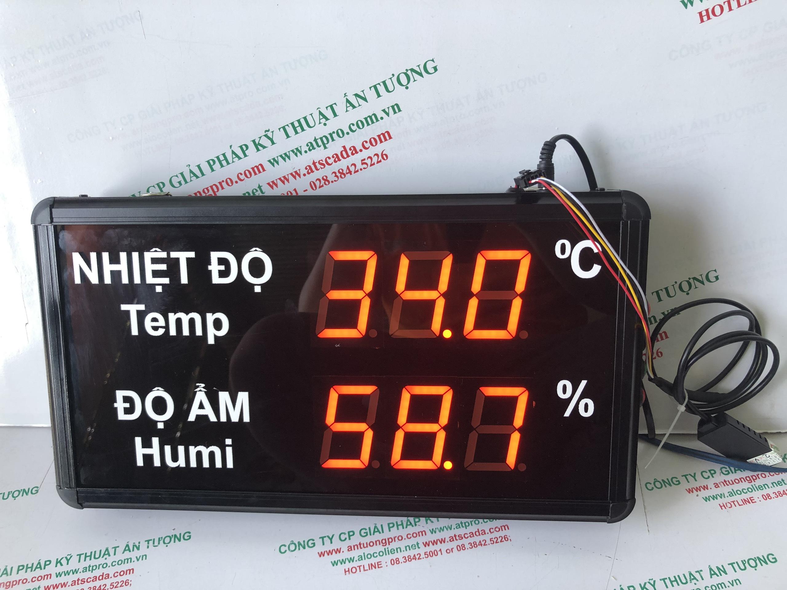 Đồng hồ đo nhiệt độ-độ ẩm nhỏ AT-THMT-S