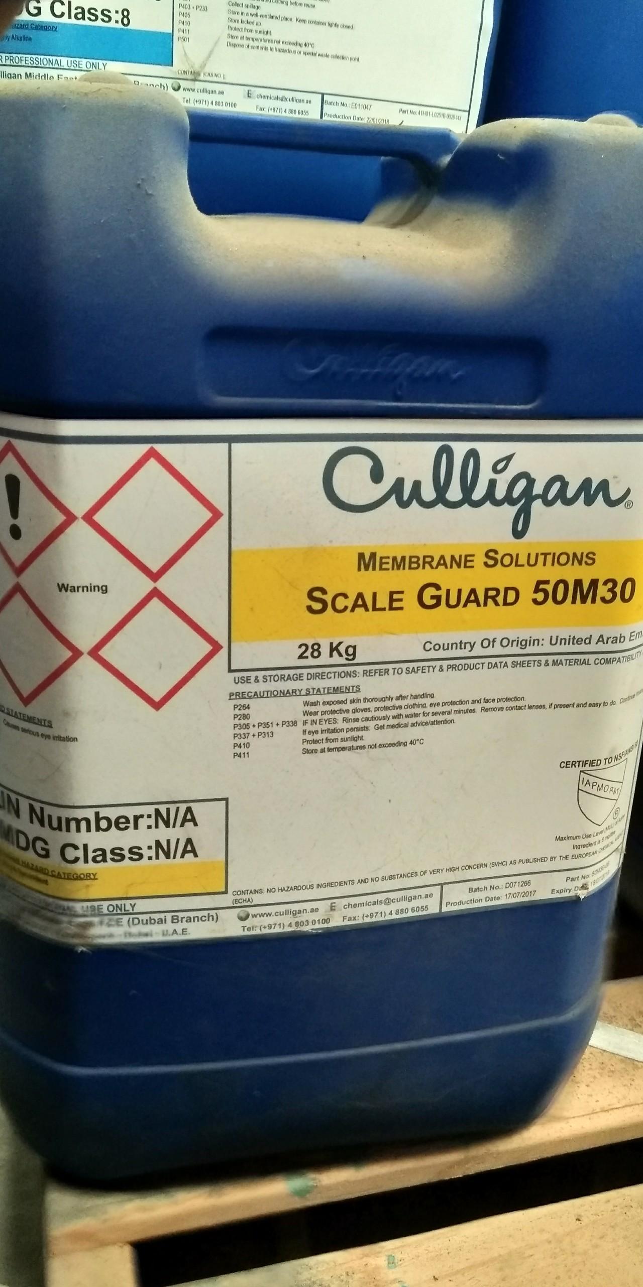 Hóa chất chống cáu cặn Scale Guard 50M30
