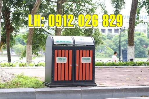 Lợi ích và đặc điểm của thùng rác nhựa công viên Paloca