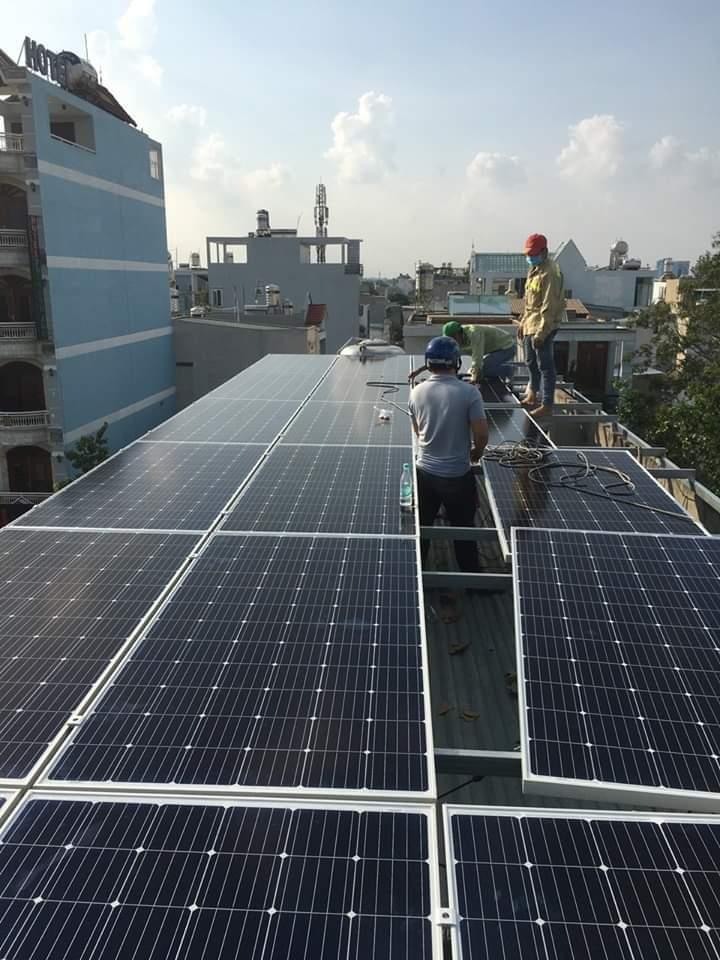 Cung cấp, lắp đặt hệ thống điện năng lượng mặt trời