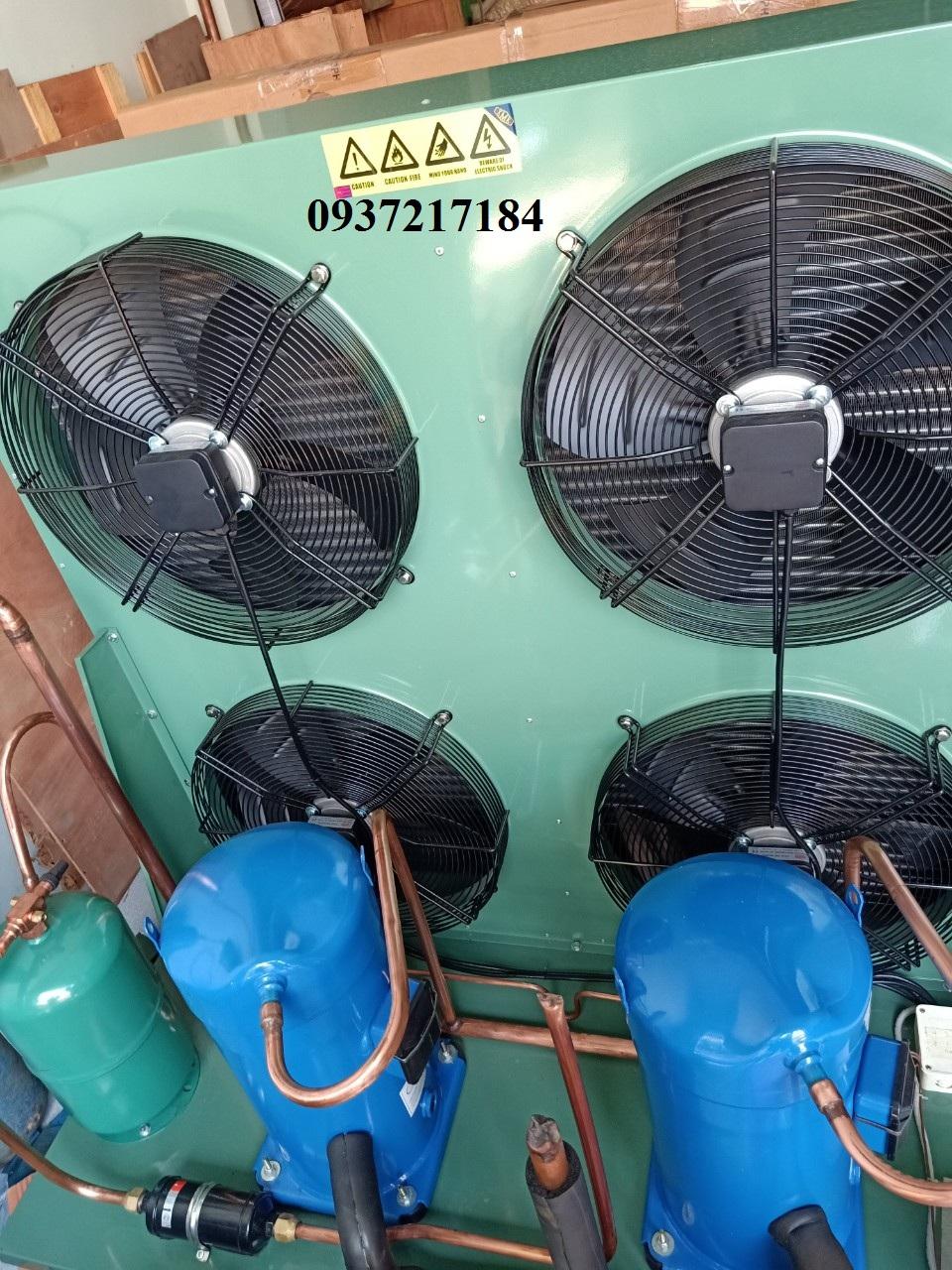 Thay cụm block máy nén Copeland cho máy sấy khí /// 0937217184